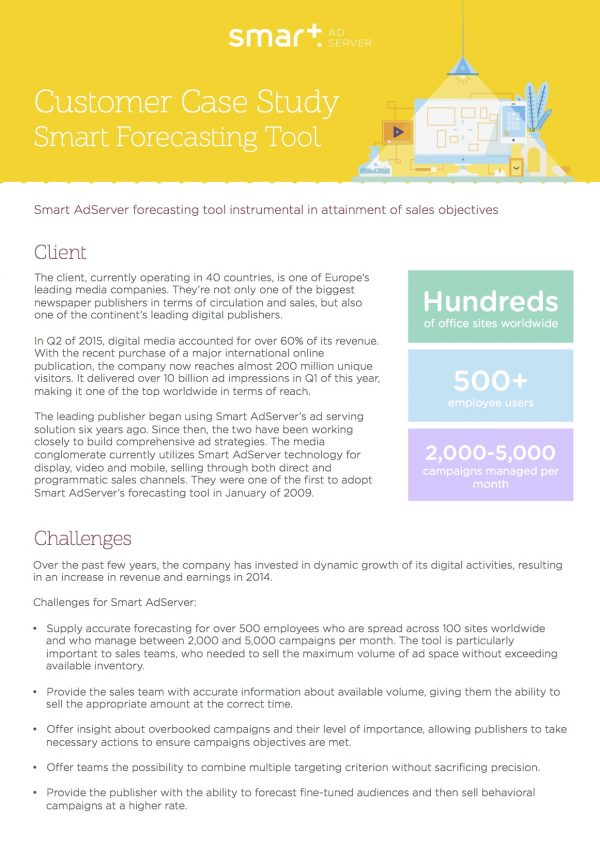 forecast revenue campaign