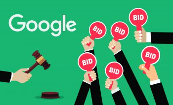 Google first price auction